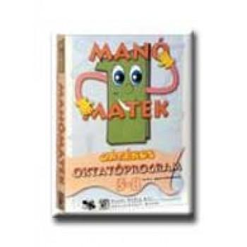 MANÓMATEK 1. - CD-ROM - (5-8 ÉVESEKNEK)