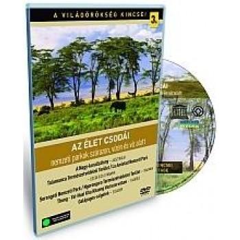 AZ ÉLET CSODÁI - A VILÁGÖRÖKSÉG KINCSEI 3. - DVD - (2010)