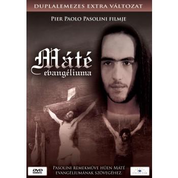 MÁTÉ EVANGÉLIUMA - DUPLALEMEZES EXTRA VÁLT. - DVD - (2011)
