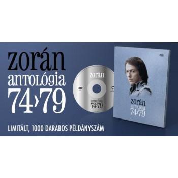 ZORÁN ANTOLÓGIA 74-79 - DVD - (2010)