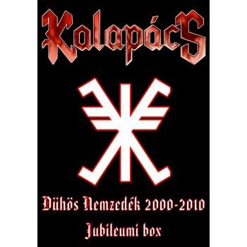 DÜHÖS NEMZEDÉK - KALAPÁCS 2000-2010 - JUBILEUMI BOX - DVD+3CD (2010)