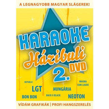 KARAOKE HÁZIBULI 2. - DVD - (2011)