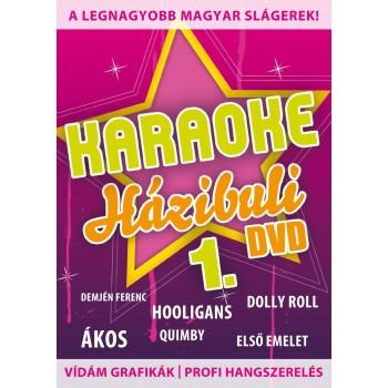 KARAOKE HÁZIBULI 1. - DVD - (2011)
