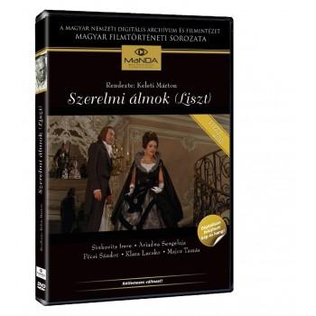 SZERELMI ÁLMOK I-II. (LISZT) - 2DVD - (2011)