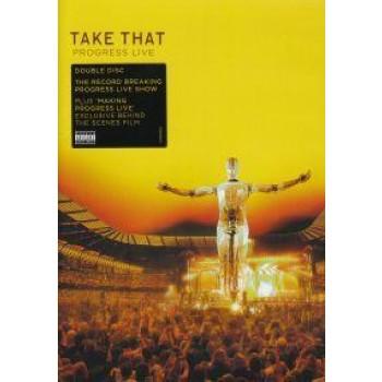TAKE THAT - PROGRESS LIVE - 2 DVD - (2011)