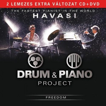 DRUM & PIANO PROJECT - FREEDOM - CD+DVD - (2012)