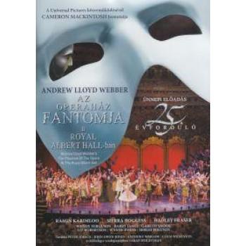 AZ OPERAHÁZ FANTOMJA A ROYAL ALBERT HALL-BAN - DVD - (2012)