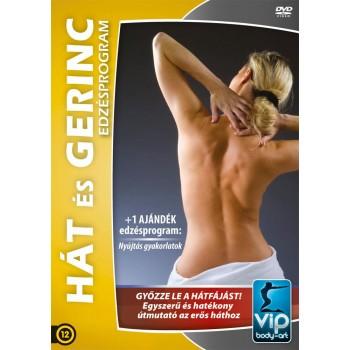HÁT ÉS GERINC EDZÉSPROGRAM - DVD - (2013)