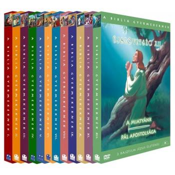 ÚJSZÖVETSÉG 1-12. - A BIBLIA GYERMEKEKNEK- DVD (2013)