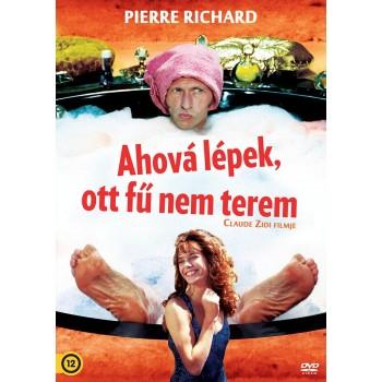 AHOVÁ LÉPEK, OTT FŰ NEM TEREM - DVD - (2013)