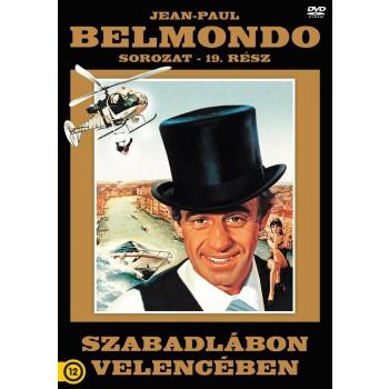 SZABADLÁBON VELENCÉBEN - BELMONDO SOR. 19. - DVD - (2013)