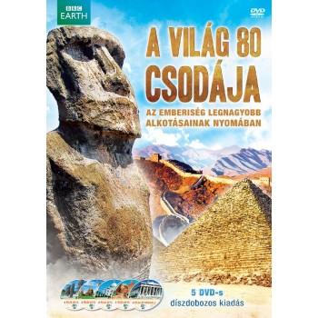 A VILÁG 80 CSODÁJA - DÍSZDOBOZ - 5 DVD - (2013)