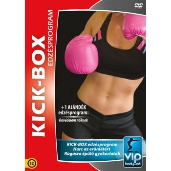KICK-BOX EDZÉSPROGRAM - DVD - (2013)