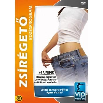 ZSÍRÉGETŐ EDZÉSPROGRAM - DVD - (2013)