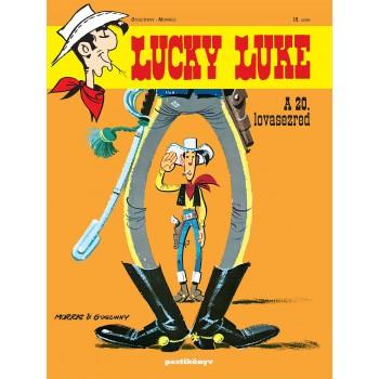 LUCKY LUKE 18. -  A 20. LOVASEZRED (2013)