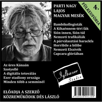MAGYAR MESÉK, FÜLKEFÓRIA 4. (VERSEK) - HANGOSKÖNYV - (2013)