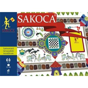 SAKOCA - SAKKOKTATÓ TÁRSASJÁTÉK KEZDŐKNEK (2014)