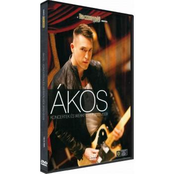 ÁKOS - KONCERTEK ÉS WERKFILMEK 2000-2009 - DVD - (2010)