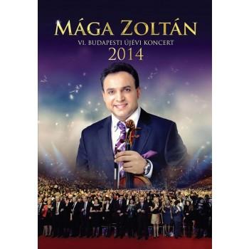 MÁGA ZOLTÁN - VI. BUDAPESTI ÚJÉVI KONCERT 2014 - DVD - (2014)
