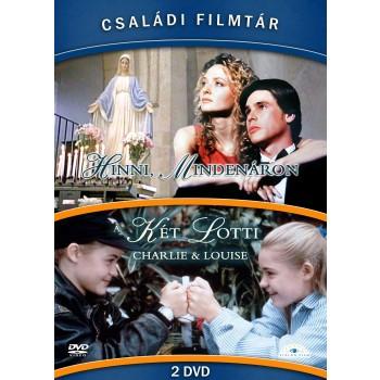 CSALÁDI FILMTÁR GYŰJTEMÉNY II. - DVD - (HINNI MINDENÁRON, A KÉT LOTTI) (2014)