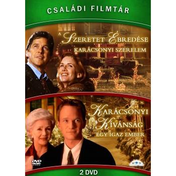 CSALÁDI FILMTÁR GYŰJTEMÉNY III. - DVD-(KARÁCSONYI KÍVÁNSÁG, A SZERETET ÉBREDÉSE) (2014)