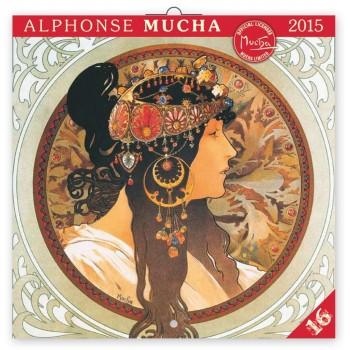 NAPTÁR PG ALPHONSE MUCHA 2015 30*30 (2014)