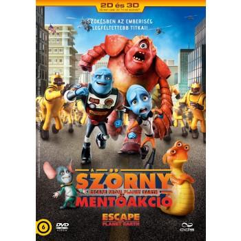 A SZÖRNY MENTŐAKCIÓ - DVD - (2014)