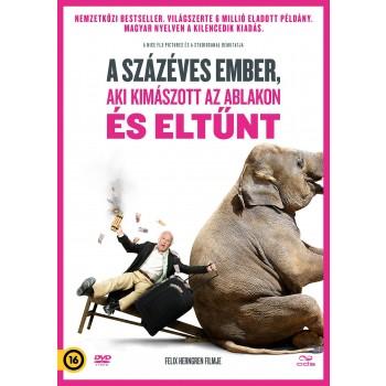 A SZÁZÉVES EMBER, AKI KIMÁSZOTT AZ ABLAKON ÉS ELTŰNT - DVD - (2014)