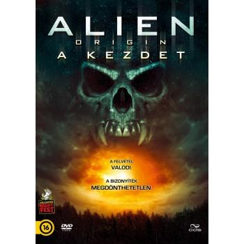 ALIEN ORIGIN - A KEZDET - DVD - (2014)