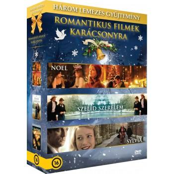 ROMANTIKUS FILMEK KARÁCSONYRA - DÍSZDOBOZ - 3DVD - (2014)