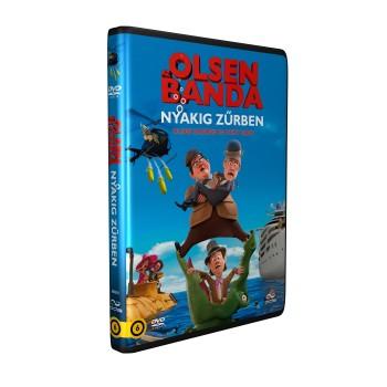AZ OLSEN BANDA NYAKIG ZŰRBEN - DVD - (2014)