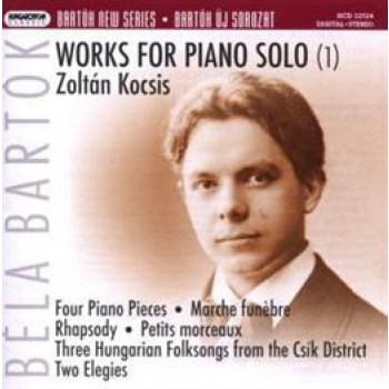 WORKS FOR PIANO SOLO (1) ZOLTÁN KOCSIS - CD - (2007)