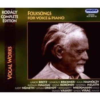 FOLKSONGS - FOR VOICE & PIANO - CD - (2009)