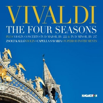 THE FOUR SEASONS - VIVALDI - CD - (2014)