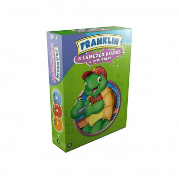 FRANKLIN 2. GYŰJTEMÉNY (5-7.) - DÍSZDOBOZ - DVD - (2014)