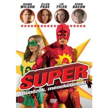 SUPER - BŰNÖZŐK, MENEKÜLJETEK!  - DVD - (2014)