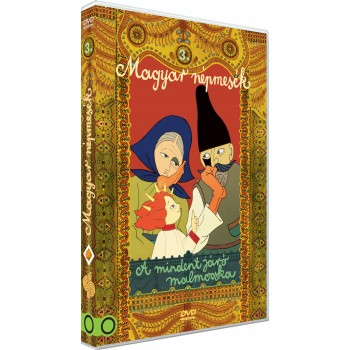MAGYAR NÉPMESÉK 3. - A MINDENT JÁRÓ MALMOCSKA - DVD - (2014)