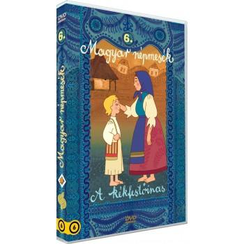 MAGYAR NÉPMESÉK 6. - A KÉKFESTŐINAS - DVD - (2014)