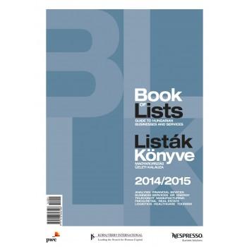 BOOK OF LISTS - LISTÁK KÖNYVE 2014/2015 (2014)