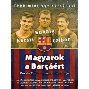 MAGYAROK A BARCÁÉRT - DVD - (2015)