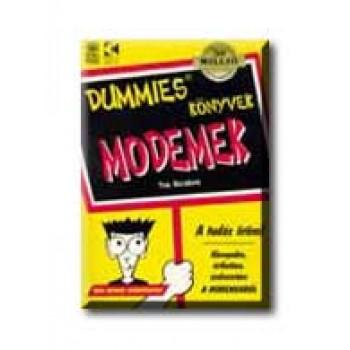 MODEMEK - DUMMIES KÖNYVEK -