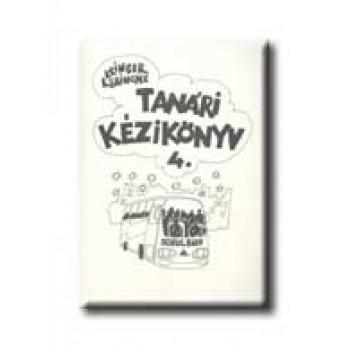 TANÁRI KÉZIKÖNYV 4. - SCHULBUS -